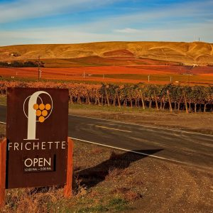 Frichette Winery near the Lodge at Columbia Point