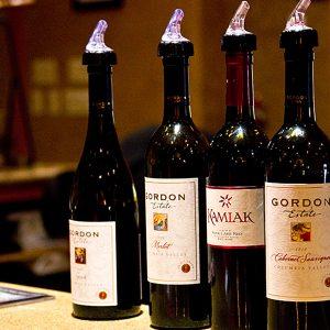 Gordon Estate winery near Lodge at Columbia Point