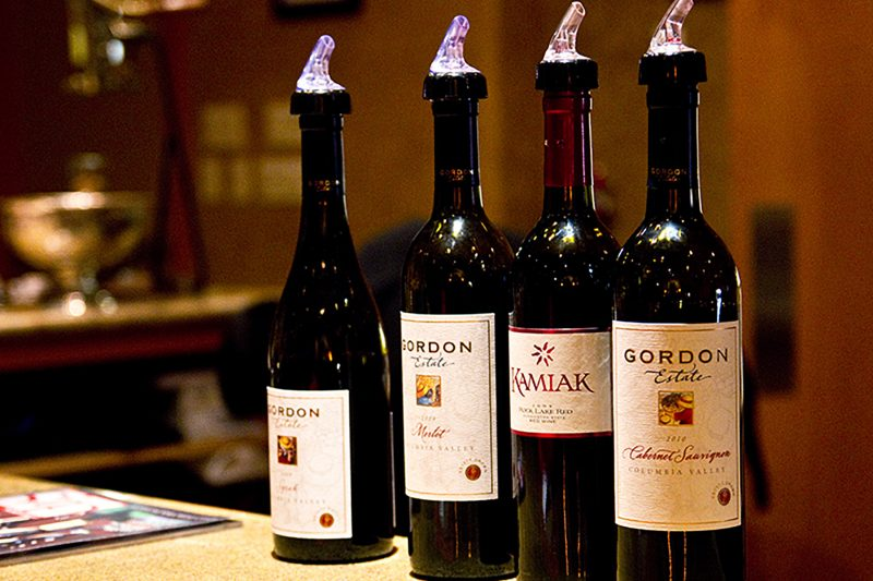 Gordon Estate winery near Lodge at Columbia Point