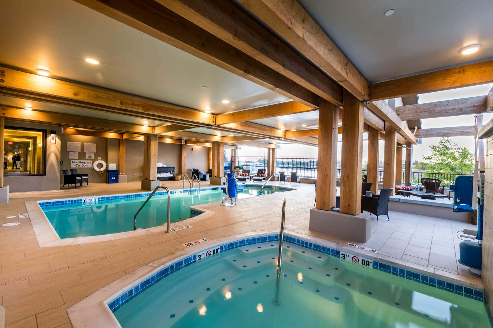Fun for the entire family when you stay at The Lodge at Columbia Point