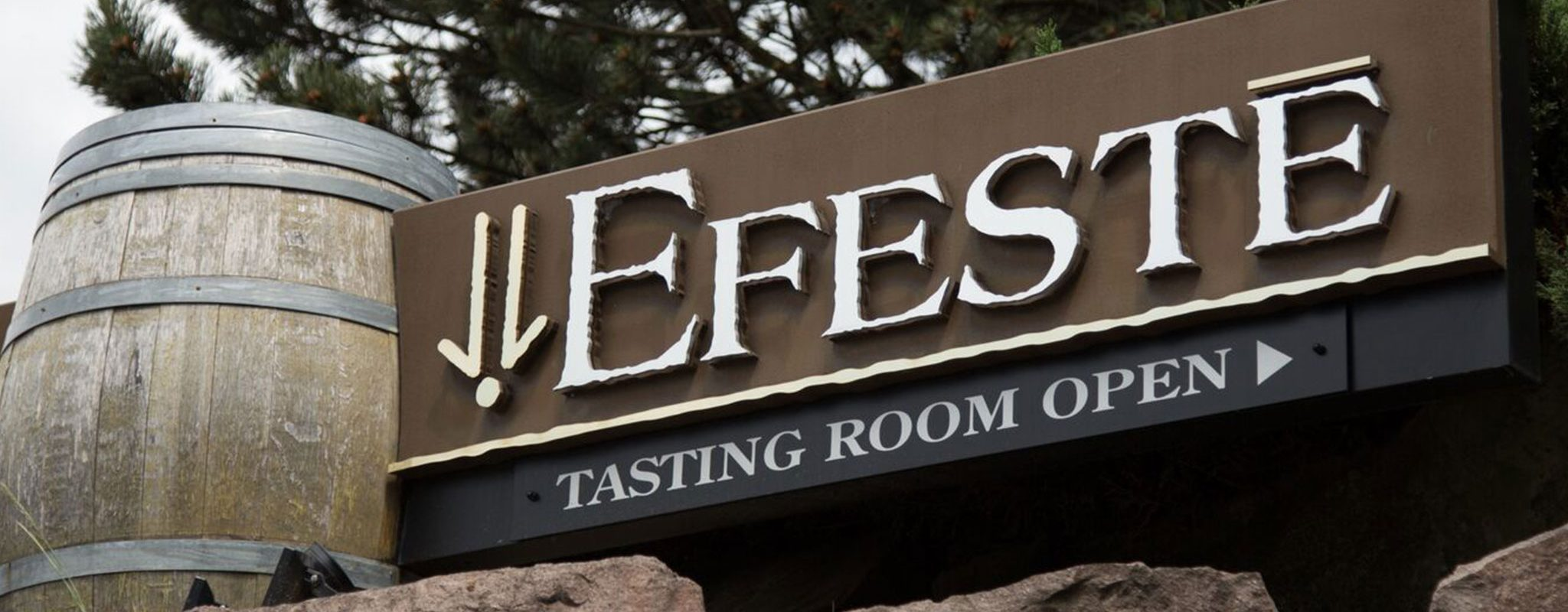 EFESTĒ Wines near Lodge at Columbia Point