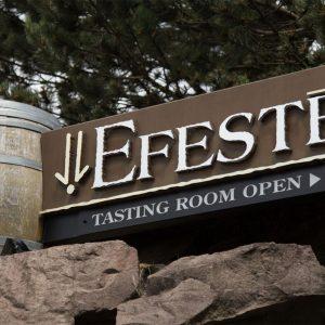 EFESTĒ Wines near Lodge at Columbia Point