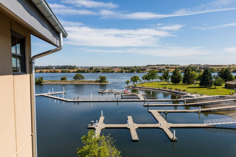 Riverfront view in Richland, Washington