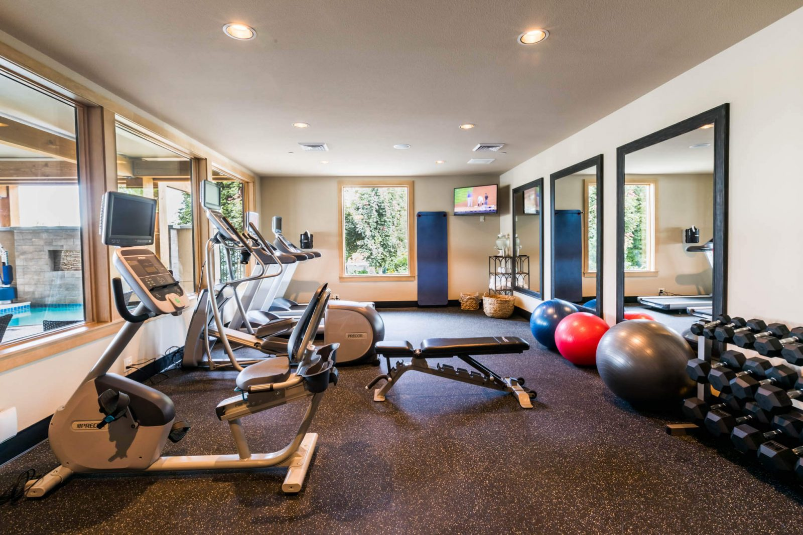 Check out our amazing fitness center