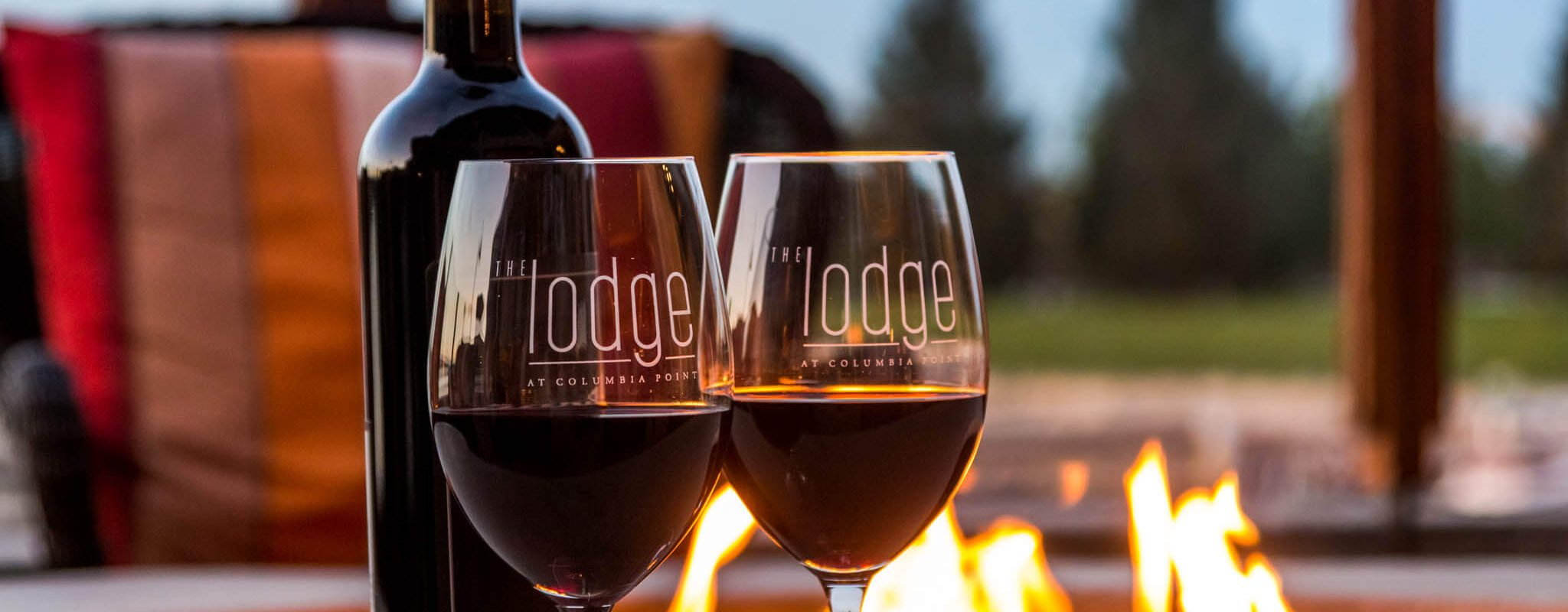 Fire and wine in Richland, Washington