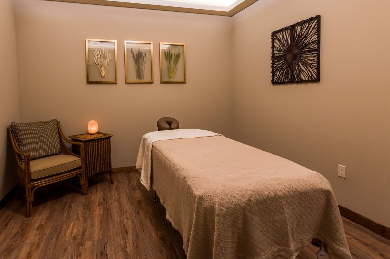 Message room in our in house spa