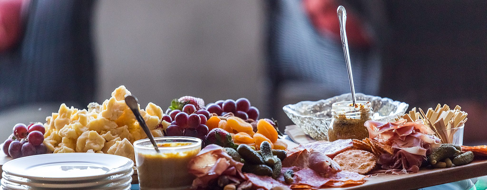Charcuterie & Cheese plate for two at Columbia Point Hotel
