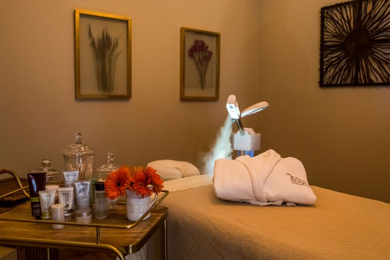 Facials available at the Columbia Point Spa