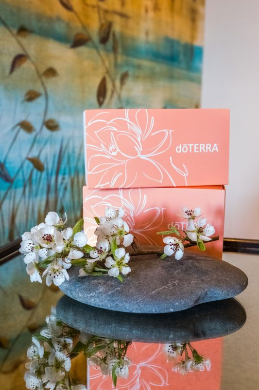 DoTerra oils used at our spa