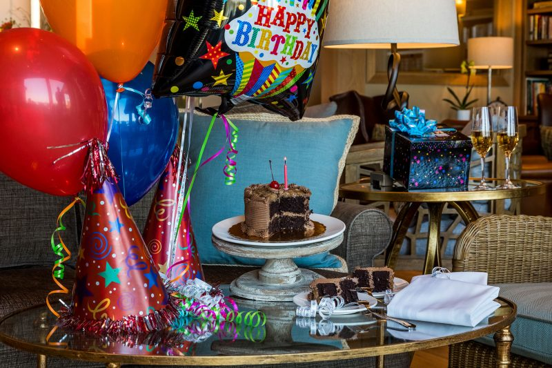 Celebrate with a Birthday Package