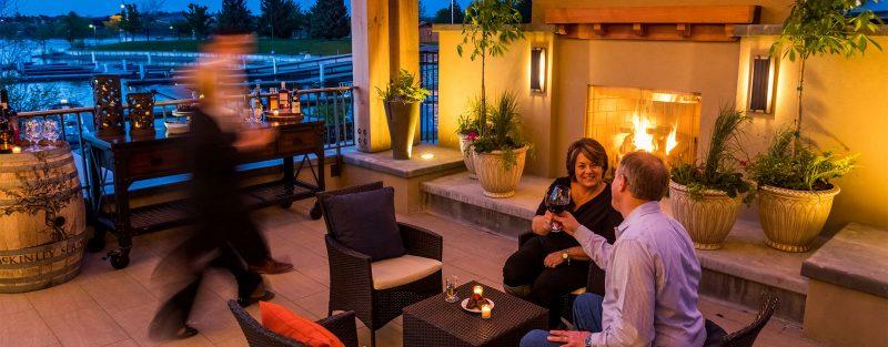 Hotel Fireplace in Richland Washington