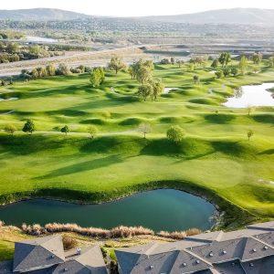 Golf course in Washington