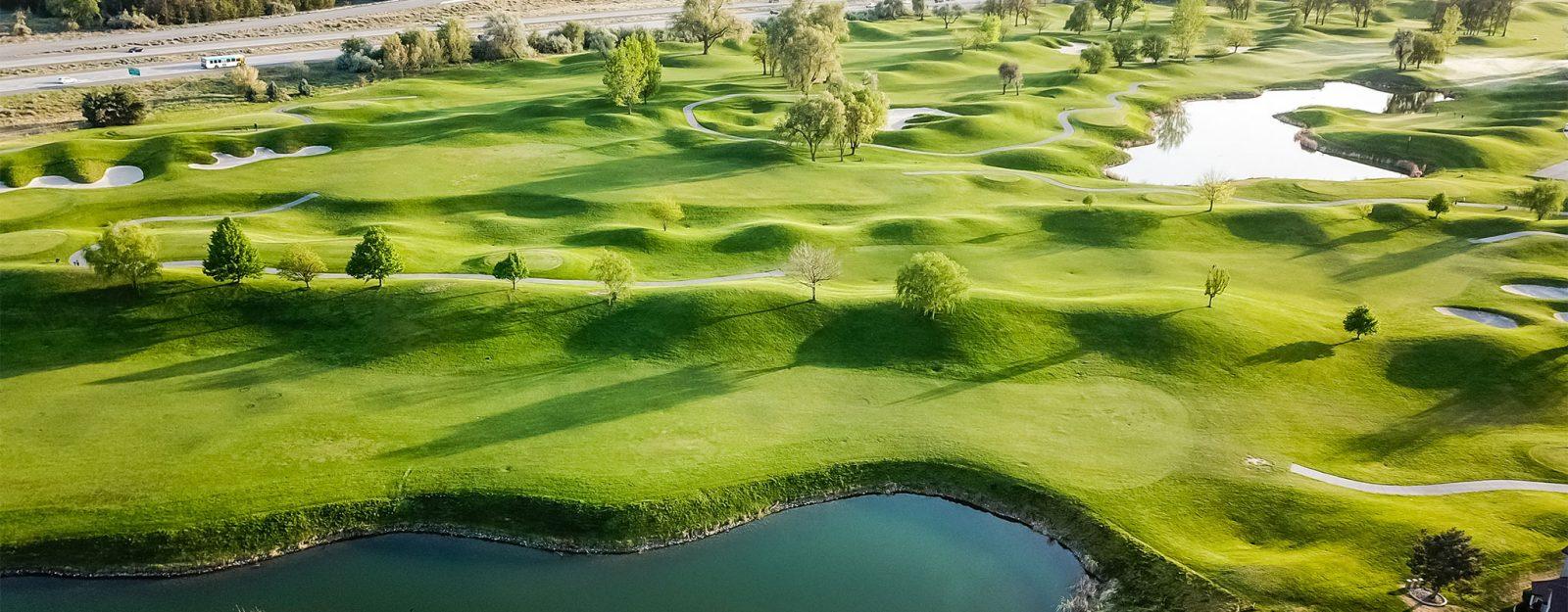 Golf course in Tri-Cities, Washington