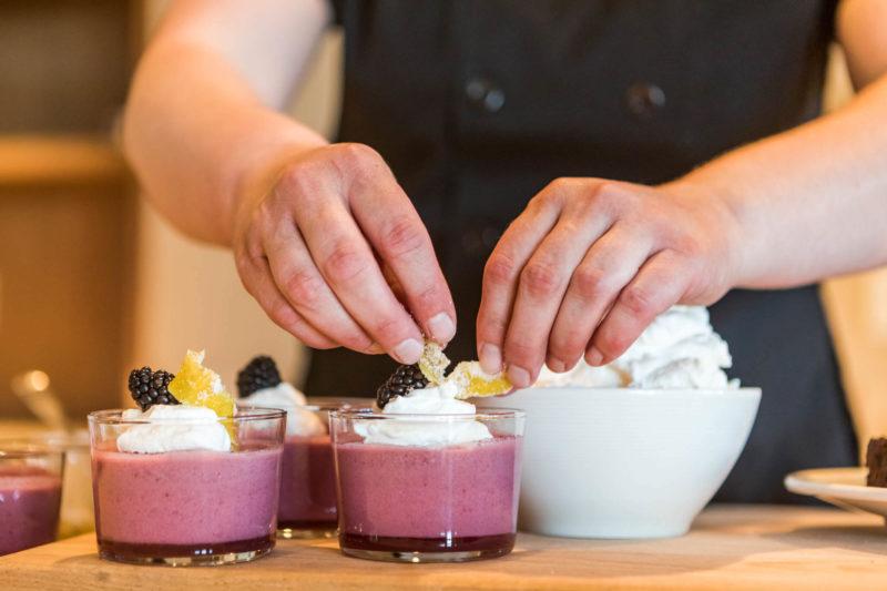 Wonderful desserts at Drumheller's restaurant