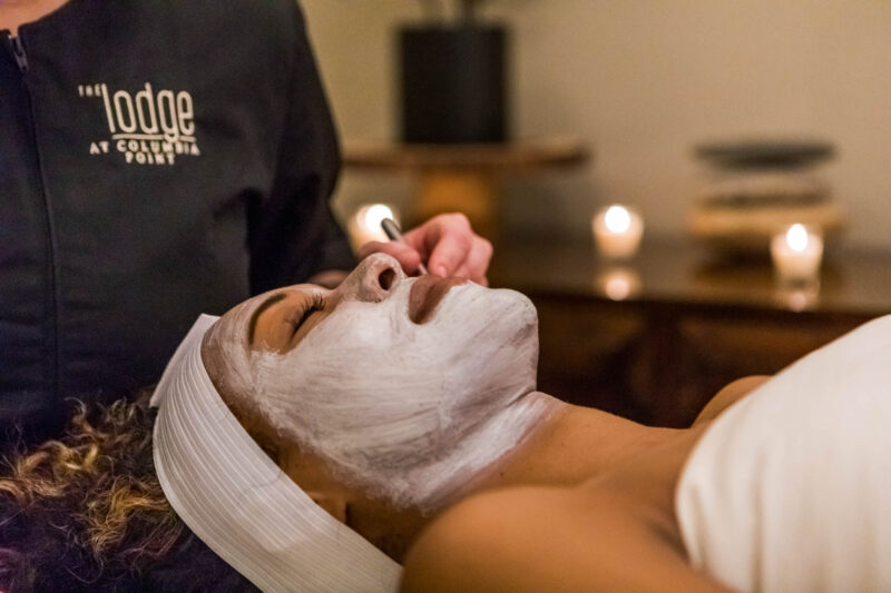 Facials available at our spa