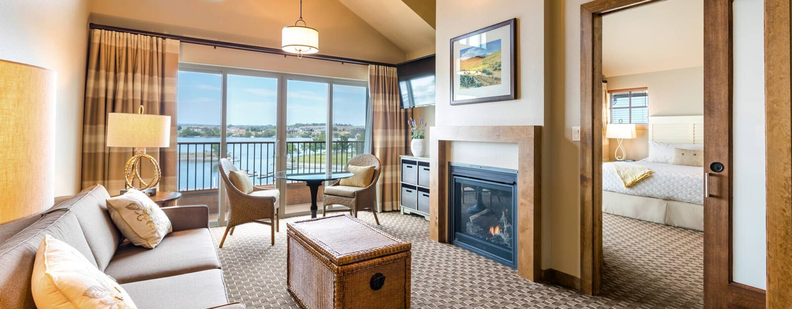 Guestrooms at the Lodge in Richland