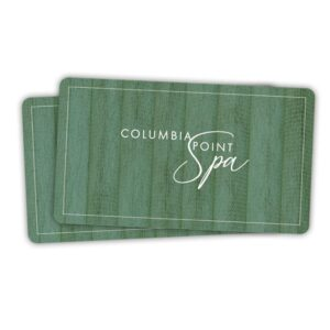 Columbia Point Spa Gift Card