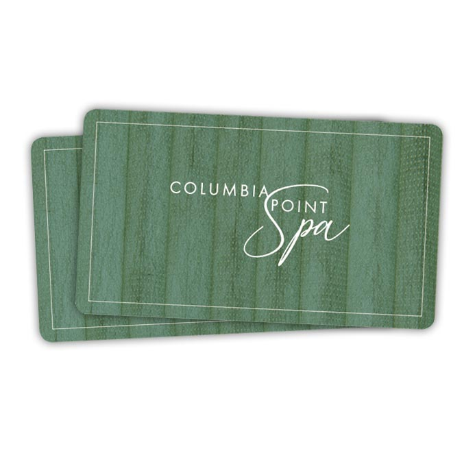 Columbia Point Spa Gift Certificate