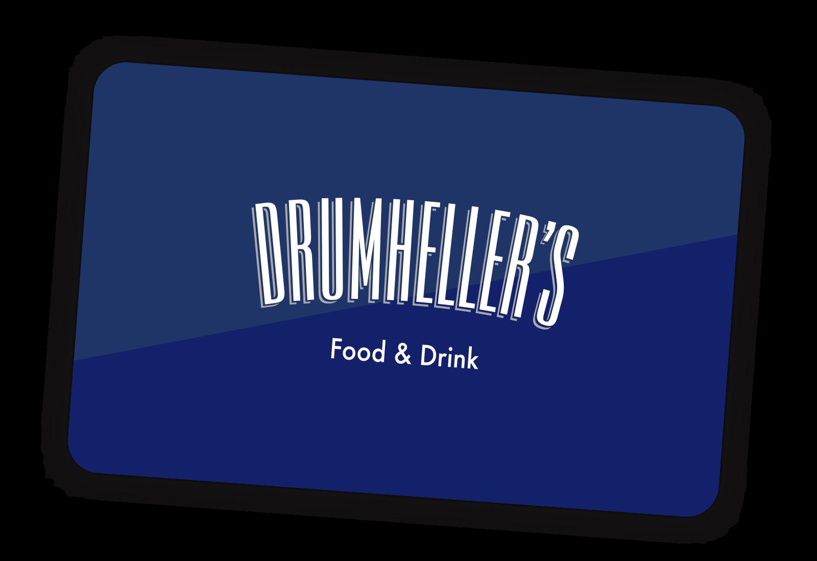 Drumheller's Food & Drink Gift Card
