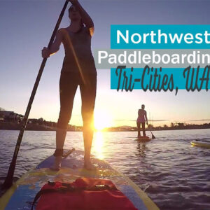 Northwest paddle boarding in Washington