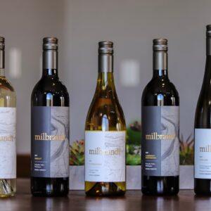Milbrant wine bottles
