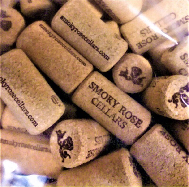Smokey Rose Cellars Corks